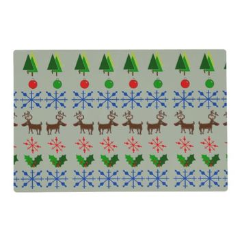 Fun Christmas Design on Placemats