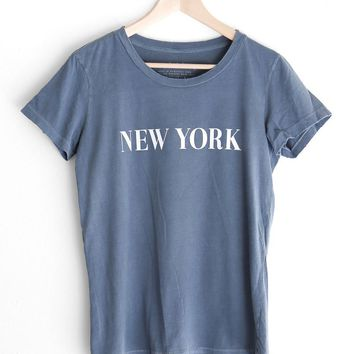New York Destroyed Tee