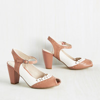Malt Shop Sweetheart Heel in Dusty Rose | Mod Retro Vintage Heels | ModCloth.com