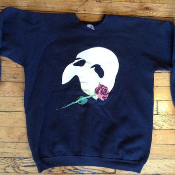 Vintage Phantom of the Opera sweatshirt USA XL