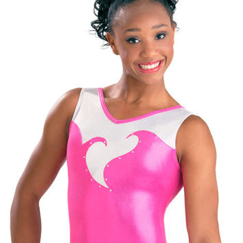 Blooming Heart Gymnastics Leotard