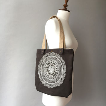 Canvas Tote Bag, Shoulder Bags