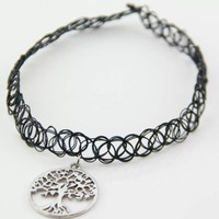 Tree Of Life Tattoo Choker from Now and Again Co.