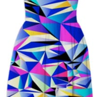 Pink+Blue No.1 created by House of Jennifer | Print All Over Me
