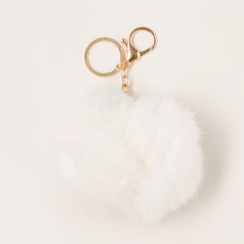 Katelyn Fur Pom Pom Key Chain