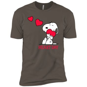 Charlie Brown t shirt - Happy Valentine's Day