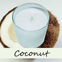 Coconut Scented Candle in Tumbler 13 oz