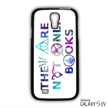 They Are Not Only Books Harry Potter The Hunger Games for phone case Samsung Galaxy S3,S4,S5,S6,S6 Edge,S6 Edge Plus phone case