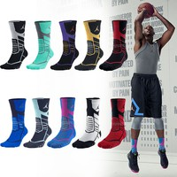 Nike Air Jordan Jumpman Basketball Training Dri-Fit Mens Flight Crew Socks Pick1