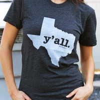 Texas Y'all Shirt