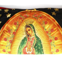 Virgin Mary Guadalupe small bag / Pencil case / wallet /  Pinup wallet