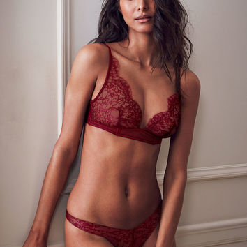 Lace Triangle Bralette - Very Sexy - Victoria's Secret