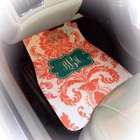 Car Mats Personalized/Monogram Car by SassySouthernGals on Etsy