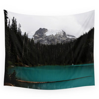Society6 The Mountains Are Calling Wall Tapestry