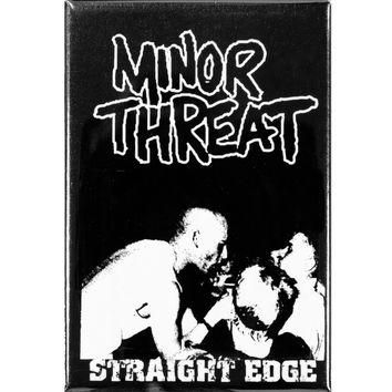 Minor Threat - Straight Edge Magnet