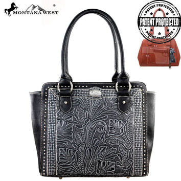 Montana West MW174G-8250 Tooled Handbag