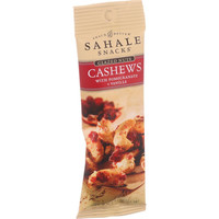 Sahale Snacks Glazed Nuts - Cashews With Pomegranate And Vanilla - 1.5 Oz - Case Of 9