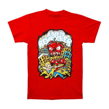 A Day To Remember Men's  Killer Tomato T-shirt Red Rockabilia