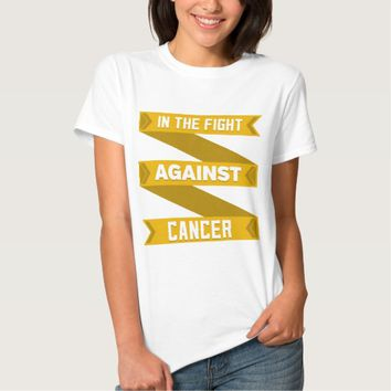 In The Fight Against Appendix Cancer Tshirt