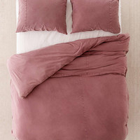 Frankie Pieced Jersey Duvet Cover - Urban Outfitters