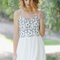 Breath Of Air Embroidered Dress