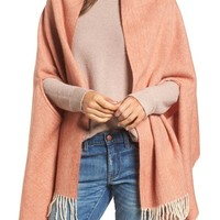 Madewell Fringe Cape Scarf | Nordstrom