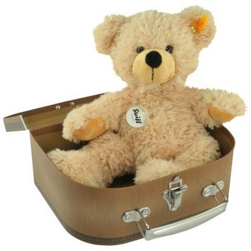 Steiff Teddy Bear in a Suitcase | Past Times