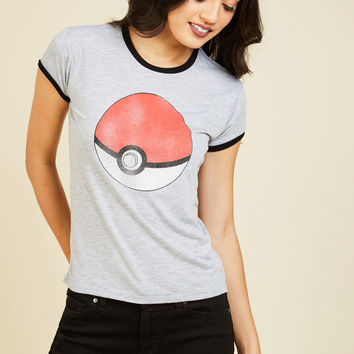 Gotta Catchy 'Em All Tee | Mod Retro Vintage Sweaters | ModCloth.com