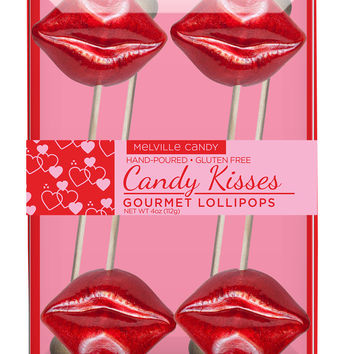 Candy Kisses Lollipop Gift Set