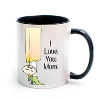 Mother's Coffee Cup, Mom Cup, Teacher Gift, Coffee Cup, Tea Cup, Mug, Mother's Day