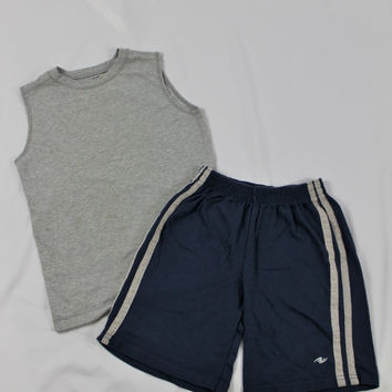 Boys Prospirit Sleeveless Top, Atheletic Works Shorts, size 6/7, Small