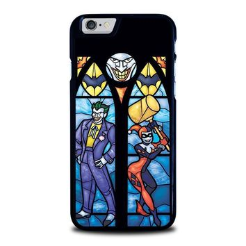 joker and harley quinn art iphone 6 6s case cover  number 1