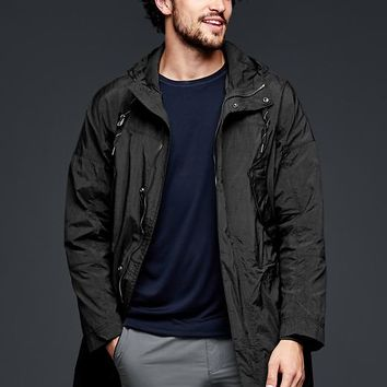Gap Men Urban Active Crinkle Nylon Parka