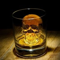 3D Skull Silicone Ice Cube Mold Tray