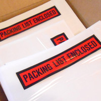 Packing List, Envelopes, Mailing Supplies, Wholesale Lot, 1000 Packing Slip, Shipping Supplies, Packing List Envelope, Sticky Packing List