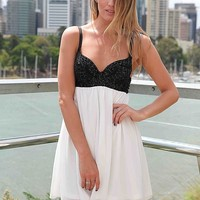 SEQUIN BUST CUT OUT DRESS , DRESSES, TOPS, BOTTOMS, JACKETS & JUMPERS, ACCESSORIES, SALE, PRE ORDER, NEW ARRIVALS, PLAYSUIT, Australia, Queensland, Brisbane