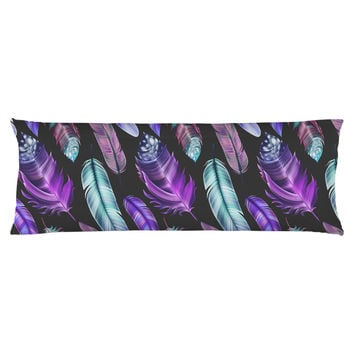 Mystic Feather Body Pillow