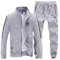 Adidas: woman Men's sports suit