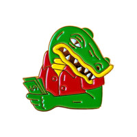 Cash Gator Lapel Pin