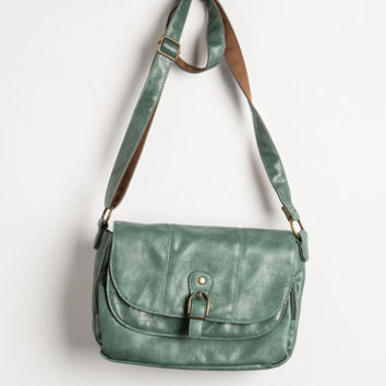 ModCloth Boho Merry to Carry Bag in Sage