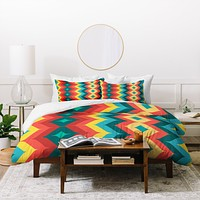 Juliana Curi Chevron 4 Duvet Cover