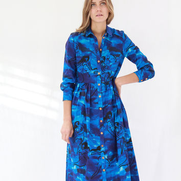 Heinui Lenny Dress Voodoo