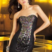 Alyce Short Dress 4329 at Prom Dress Shop