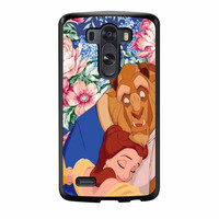 Beauty And The Beast Floral Vintage LG G3 Case