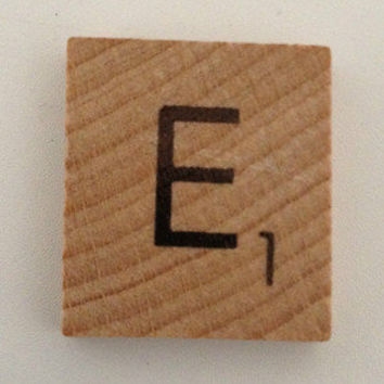 Scrabble Tile and Eproxy Sticker x4