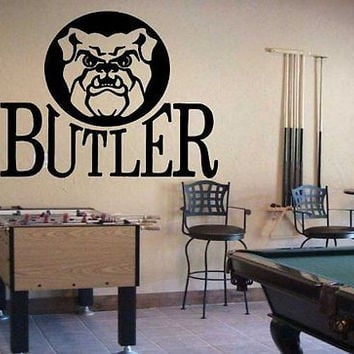 NCAA Butler Bulldogs Logo Emblem Wall Art Sticker Decal (S107)
