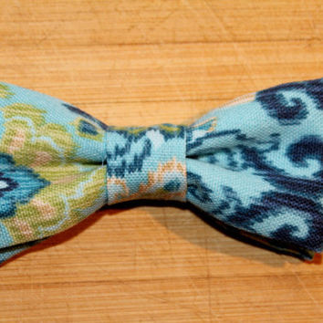 Original Brobow Magnet Bow Tie - Teal - for Preppy men - Perfect for everyday
