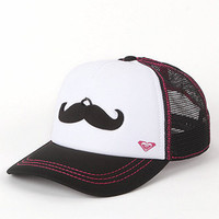 Roxy Mustache Trucker Hat at PacSun.com