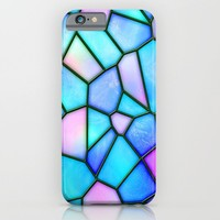 pastel stained glass iPhone & iPod Case by Haroulita