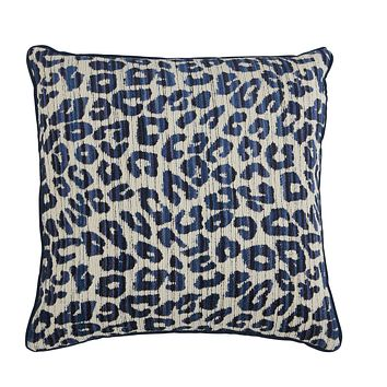 Zeta Indigo Pillow by Lacefield